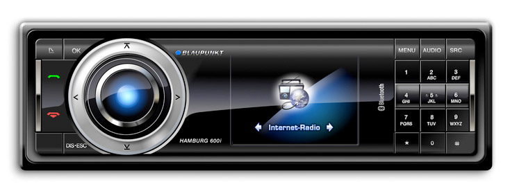 In-Car Internet Radio