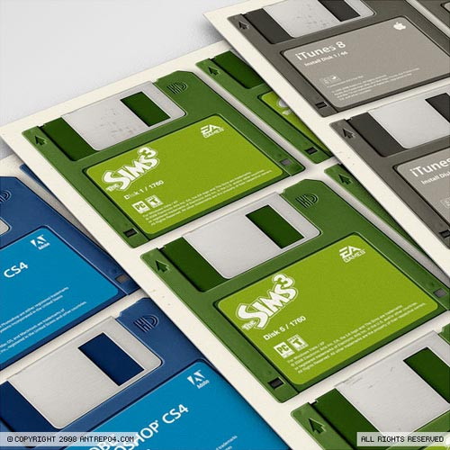 3.5 Inch Floppies Poster
