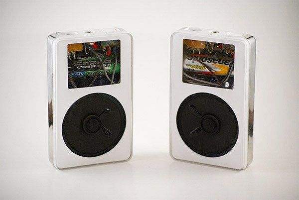 DIY iPod Speakers