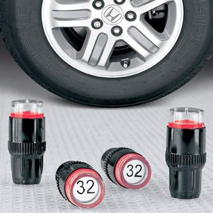 Tire Pressure Caps