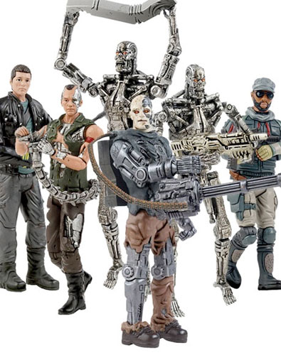 T4 Action Figures