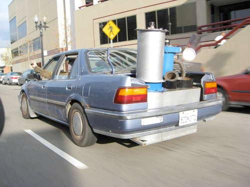 Trash-Powered Honda