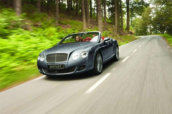 Facelifted: Bentley GTC