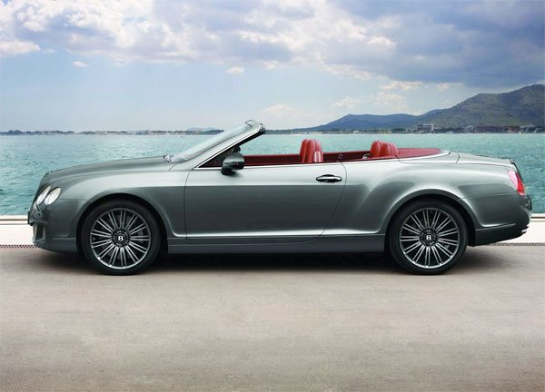 Facelifted: Bentley GTC