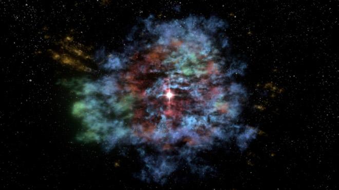3D Supernova Flythrough