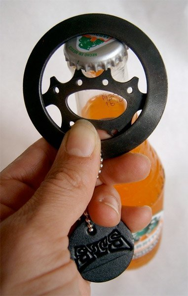 Bike Gear Bottle Opener