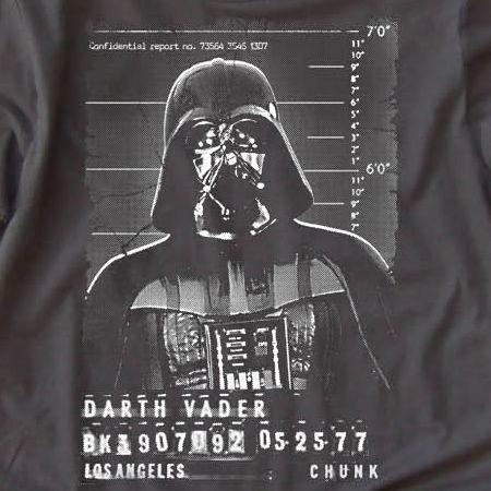 Darth Vader Mugshot Tee
