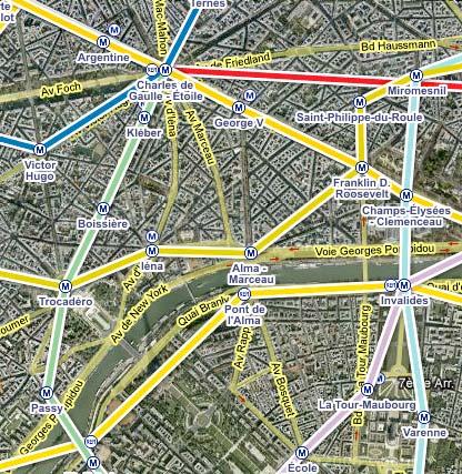 Google Transit Maps