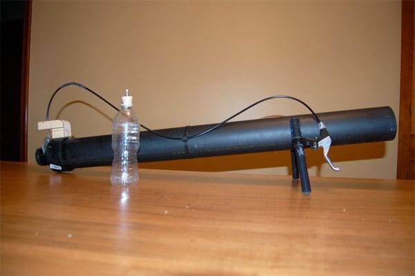 DIY: Water Bottle Bazooka