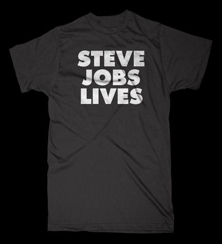 Steve Jobs Lives Tees