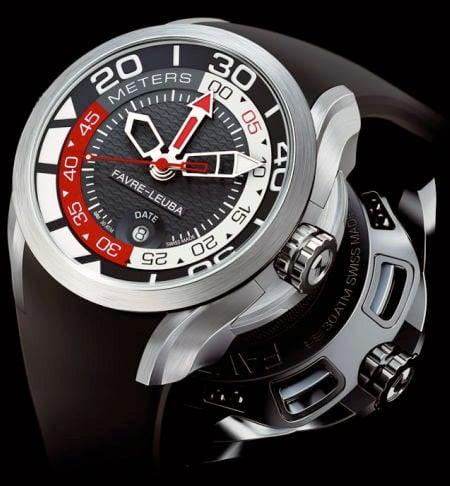 Favre-Leuba Bathy Watch