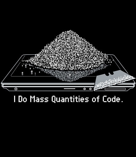 Mass Quantities of Code