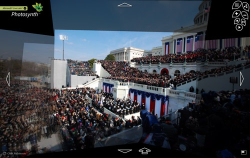 Inauguration x PhotoSynth
