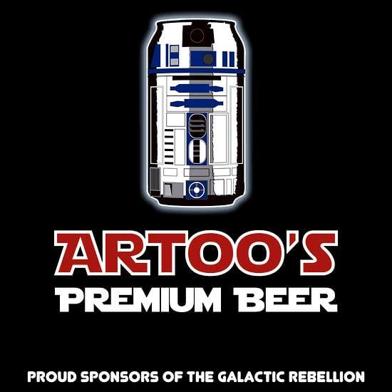 Artoo's Premium Beer Tee
