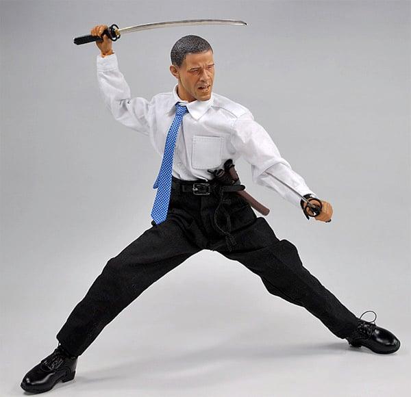 Obama Action Figure