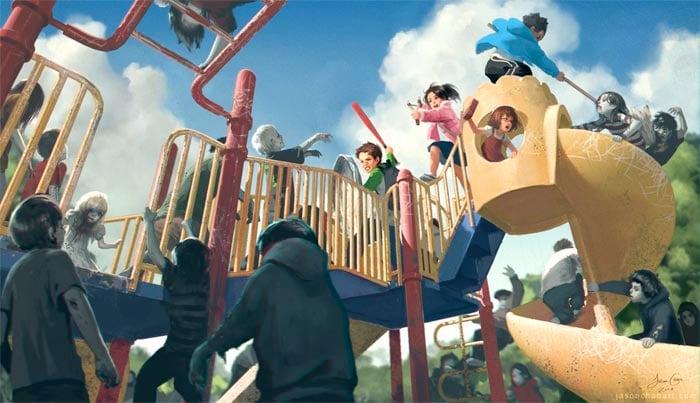 Art: Zombie Playground
