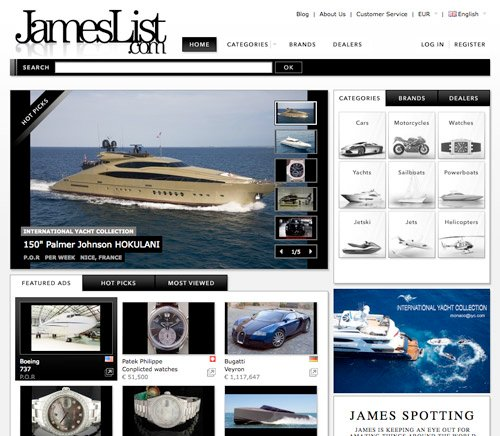 Website: JamesList