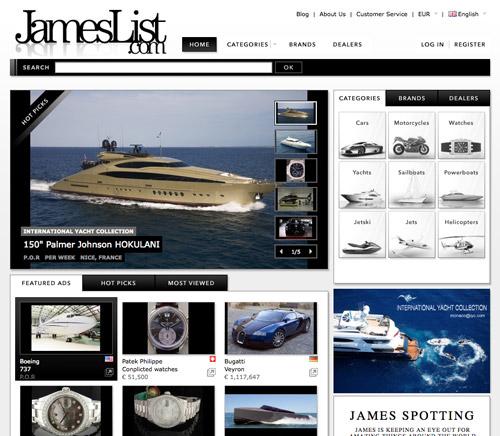 Website: JamesList