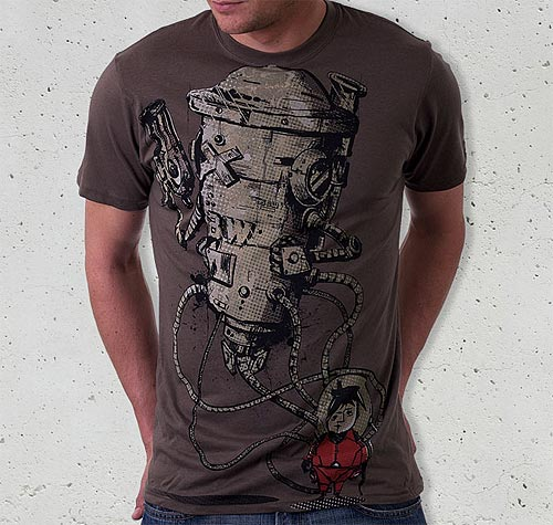 Kid-Robot T-shirt