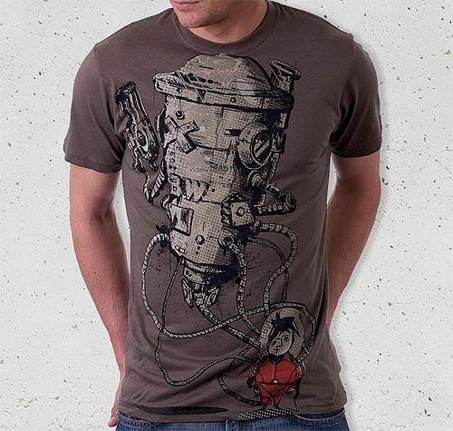 Kid-Robot T-shirt