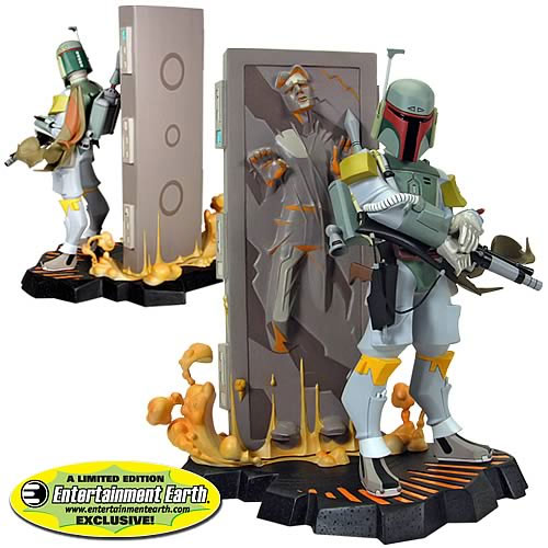 Boba Fett/Carbonite Statue