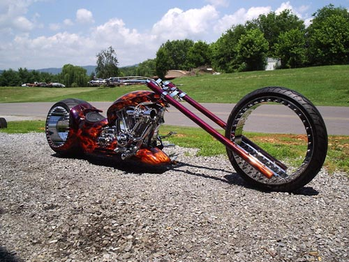 Amen Hubless Bike