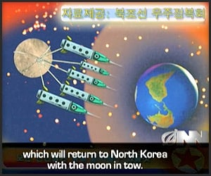 Kim Jong Il & The Moon