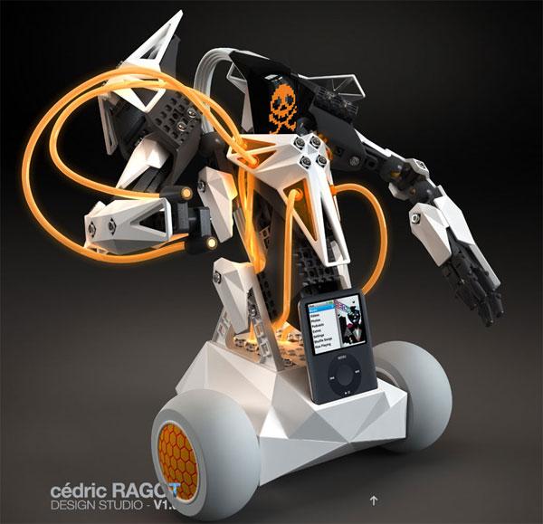 Spykee VOX Robot
