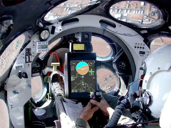 SpaceShipOne Cockpit