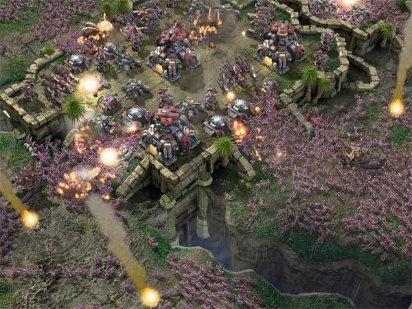 Latest StarCraft II Screenshots