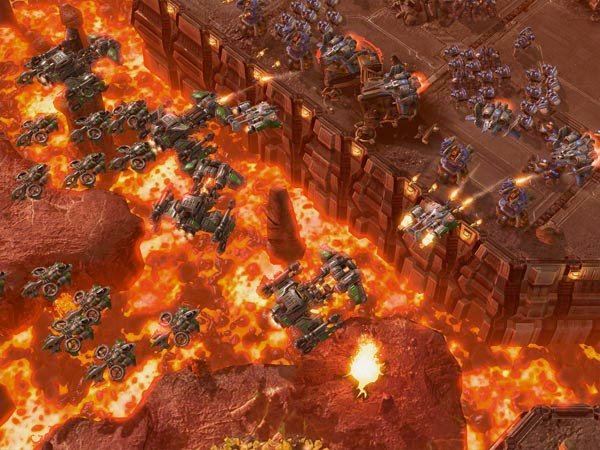 Latest StarCraft II Screenshots