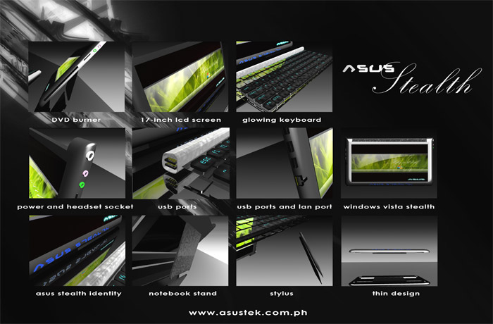 Concept: Asus Stealth