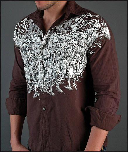 Skeleton Army Shirt