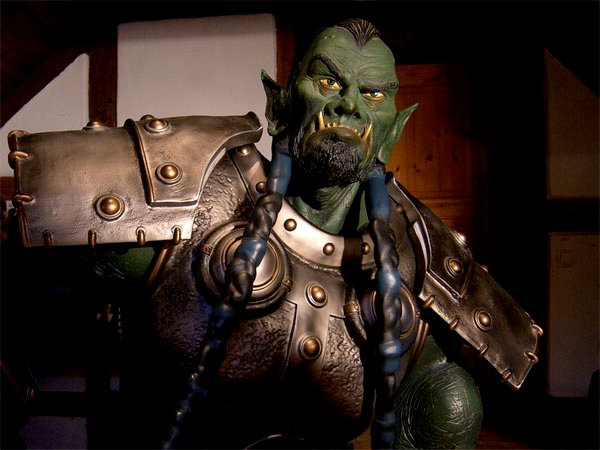 Lifesized WoW Orc