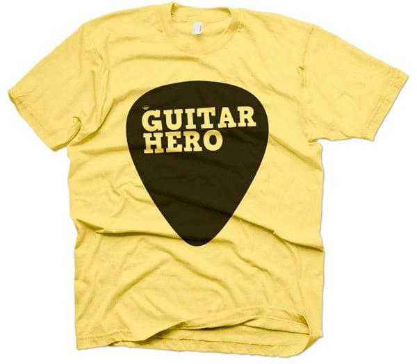 Guitar Hero Pick Tee