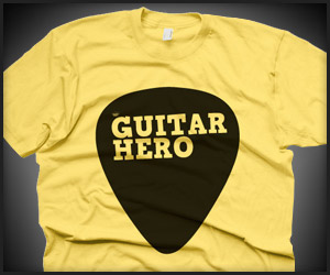 Guitar Hero Pick Tee