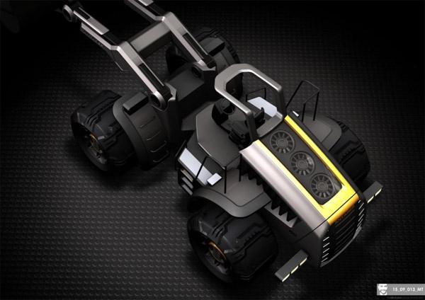 Antares Bulldozer Concept