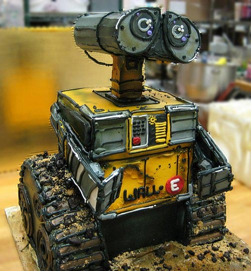 Awesome Robot Cakes