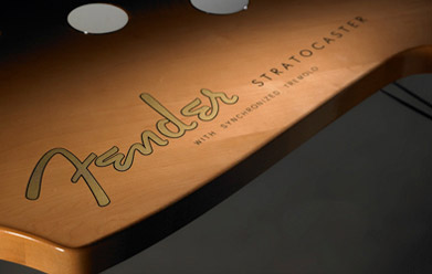 Fender Stratocaster Table