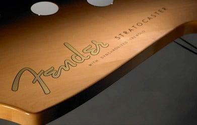 Fender Stratocaster Table