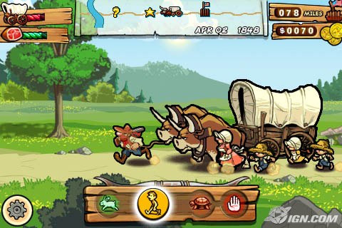 iPhone App: Oregon Trail