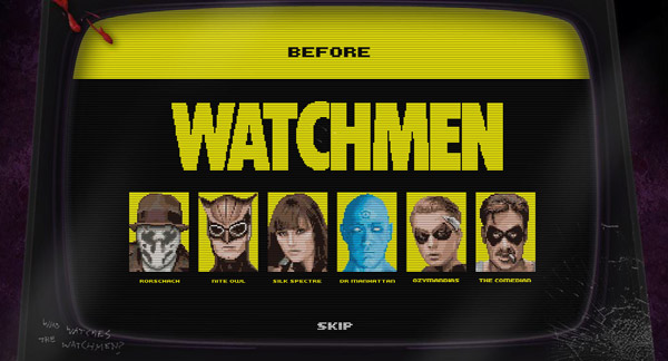 Free: 8-Bit Watchmen