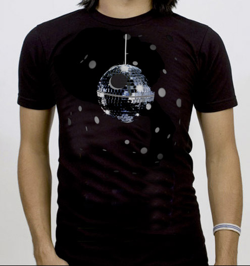 Death Star Disco Tee