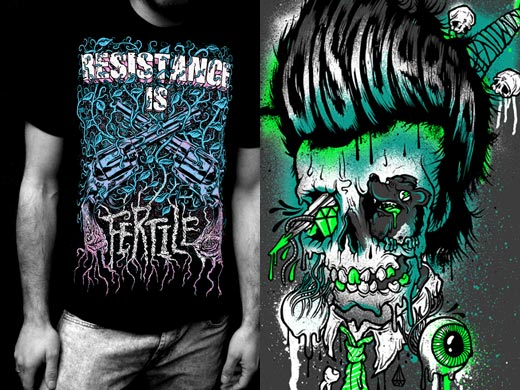 Disturbia SS09 T-shirts
