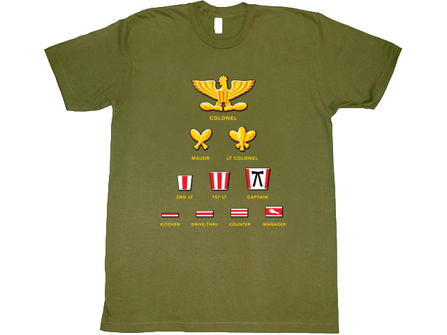 Highest Rank T-shirt