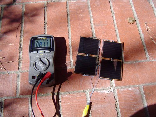 Solar-powered DS Lite