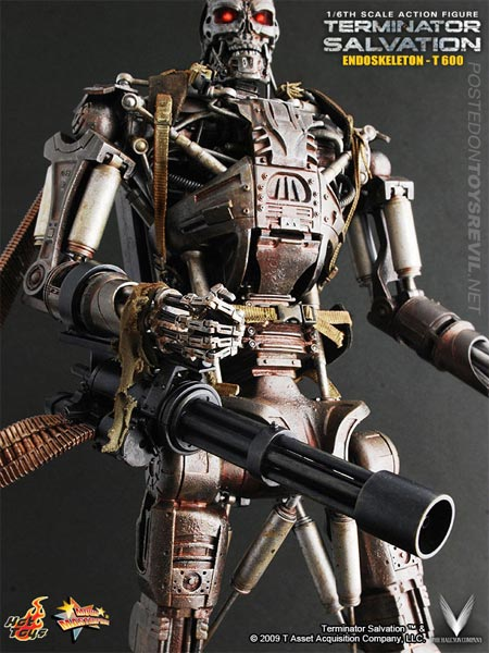 T-600 Endoskeleton