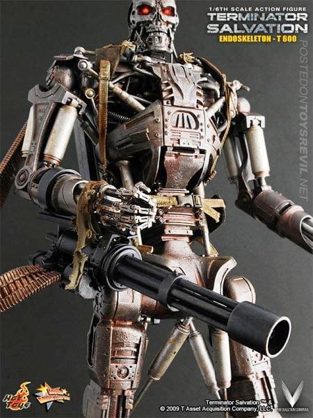 T-600 Endoskeleton