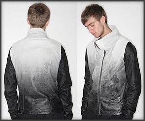 Tyvek Leather Jacket