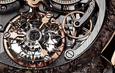 T-oxy III Skeleton Chrono